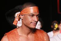 SÃO PAULO, SP, 23.04.2015 - 37ª CASA DE CRIADORES - Desfile da 37ª edição da Casa de Criadores, no Ginásio do Estádio Paulo Machado de Carvalho (Pacaembu), na zona oeste de São Paulo, na noite de quinta-feira (23). (Foto: Vanessa Carvalho / Brazil Photo Press).