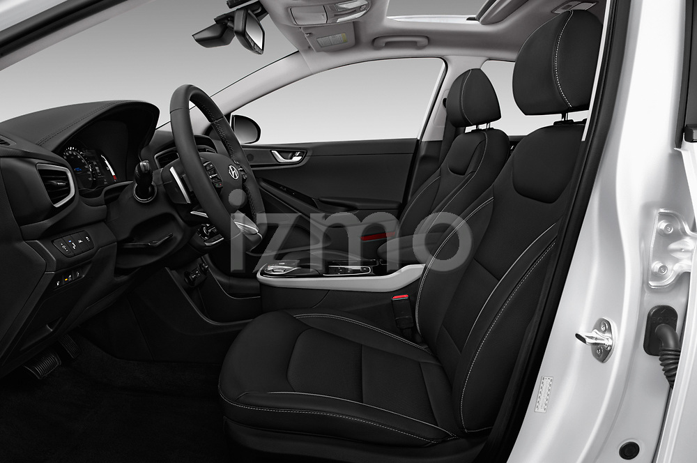 Front seat view of 2017 Hyundai Ioniq-Electric Electric-Limited 5 Door Hatchback Front Seat  car photos