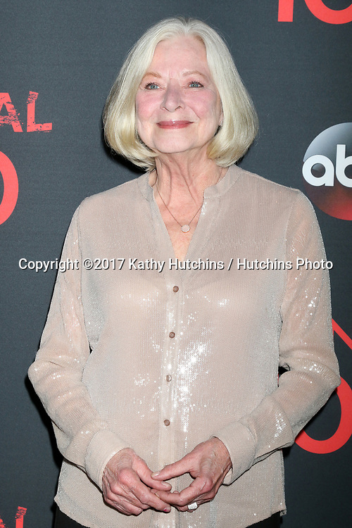 "LOS ANGELES - APR 8:  Debra Mooney at the ""Scandal"" 100th Show Party at Fig & Olive Resturant on April 8, 2017 in West Hollywood, CA"
