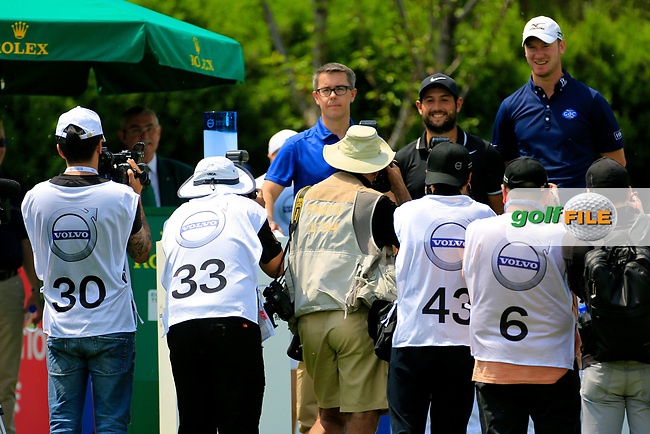 Chris Wood (ENG) during the final round of the Volvo China Open played at Topwin Golf and Country Club, Huairou, Beijing, China 27- 30 April 2017.<br /> 30/04/2017.<br /> Picture: Golffile | Phil Inglis<br /> <br /> <br /> All photo usage must carry mandatory copyright credit (&copy; Golffile | Phil Inglis)