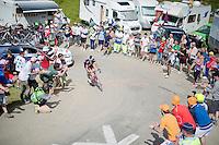 Sylvain Chavanel (FRA/IAM)<br /> <br /> 2014 Tour de France<br /> stage16: Carcassonne - Bagnères-de-Luchon (237km)