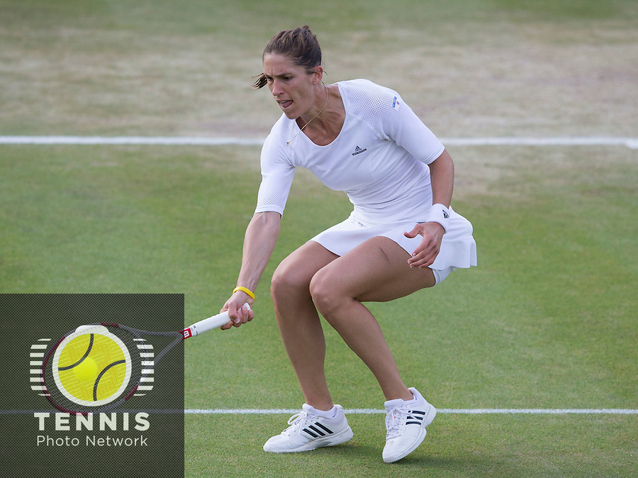 ANDREA PETKOVIC (GER)<br /> <br /> The Championships Wimbledon 2014 - The All England Lawn Tennis Club -  London - UK -  ATP - ITF - WTA-2014  - Grand Slam - Great Britain -  28th June 2014. <br /> <br /> © Tennis Photo Network