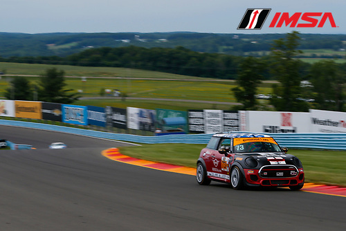 IMSA Continental Tire SportsCar Challenge<br /> Continental Tire 120 at The Glen<br /> Watkins Glen International, Watkins Glen, NY USA<br /> Thursday 29 June 2017<br /> 73, MINI, MINI JCW, ST, Derek Jones, Mat Pombo<br /> World Copyright: Jake Galstad/LAT Images