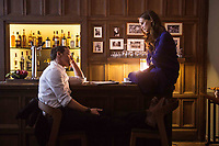 Submergence (2017) <br /> James McAvoy &amp; Alicia Vikander<br /> *Filmstill - Editorial Use Only*<br /> CAP/MFS<br /> Image supplied by Capital Pictures
