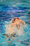 25 MAR 2011: Robert Barry of Denison competes in the 100 yard backstroke during the Division III Men's and Women's Swimming and Diving Championship help at Allan Jones Aquatic Center in Knoxville, TN.  Barry finished with a time of 48.39 to win the national title. David Weinhold/NCAA PhotosS