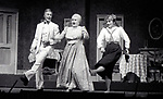"Terrence Monk, Margaret Whiting and Candice Earley performing in ""Gigi'"" with the Kenley Players on June 30, 1982 in Dayton Ohio."