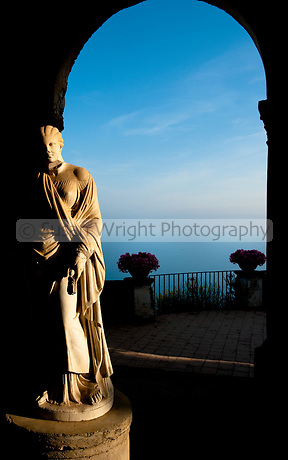 Terrace of Infinity, Villa Cimbrone, Ravello, Amalfi Coast, Italy