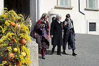 """Roma, 7 Marzo 2015<br /> Quirinale.<br /> Giornata internazionale dela donna, <br /> celebrazione dedicata al tema """"Donne per la Terra"""".<br /> Nalla foto Rosy Bindi"""