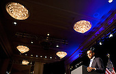 United States President Barack Obama speaks at a Democratic National Committee (DNC) fundraiser in Washington, DC, on Monday, May 16, 2011.   .Credit: Joshua Roberts / Pool via CNP