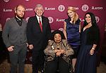 Josh Kight, Arthur Makar, Martina Arroyo, Shana Farr and Shana Grossman attends the 2016 Helen Hayes Award Dinner honoring Barbara Cook at The Players Club on November 17, 2016 in New York City.