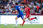Bayern Munich Midfielder Corentin Tolisso (R) in action during the International Champions Cup match between Chelsea FC and FC Bayern Munich at National Stadium on July 25, 2017 in Singapore. Photo by Marcio Rodrigo Machado / Power Sport Images