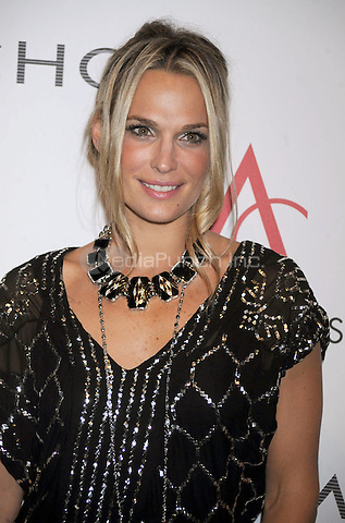 Molly Sims at the 13th Annual ACE Awards presented by the Accessories Council at Cipriani 42nd Street  in New York City. November 2, 2009. Credit: Dennis Van Tine/MediaPunch