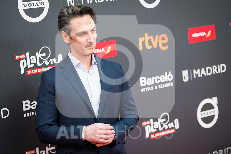 "Ernesto Alter attends to the presentation of the ""Premios Platino"" at Palacio de Cristal in Madrid. April 07, 2017. (ALTERPHOTOS/Borja B.Hojas)"