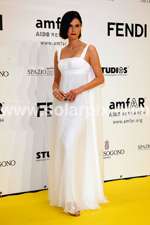 **ALL ROUND PICTURES FROM SOLARPIX.COM**.**SYNDICATION RIGHTS FOR UK AND SPAIN ONLY**.Guests attending the red carpet arrivals for amfAR - Cinema Against Aids Gala during the 2007 Rome Film Festival (2nd Cinema Feste Internazionale di Roma) in Rome, Italy.  26th October 2007..This pic: Alessandra Martinez..JOB REF: 5205 CPR        DATE: 26_10_2007.**MUST CREDIT SOLARPIX.COM OR DOUBLE FEE WILL BE CHARGED* *UNDER NO CIRCUMSTANCES IS THIS IMAGE TO BE REPRODUCED FOR ANY ONLINE EDITION WITHOUT PRIOR PERMISSION*