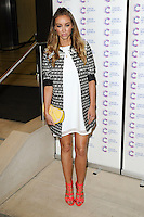 Lauren Pope arriving at James' Jog On To Cancer Event, Kensington Roof Gardens, London. 09/04/2014 Picture by: Alexandra Glen / Featureflash