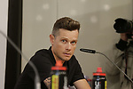 Nicolas Roche (IRL) BMC Racing Team press conference before the 104th edition of the Tour de France 2017, Dusseldorf, Germany. 29th June 2017.<br /> Picture: Eoin Clarke | Cyclefile<br /> <br /> All photos usage must carry mandatory copyright credit (&copy; Cyclefile | Eoin Clarke)