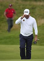 Lee Westwood (ENG) during Round One of the 148th Open Championship, Royal Portrush Golf Club, Portrush, Antrim, Northern Ireland. 18/07/2019. Picture David Lloyd / Golffile.ie<br /> <br /> All photo usage must carry mandatory copyright credit (© Golffile | David Lloyd)