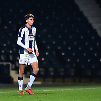 West Bromwich Albion U18's Zak Brown<br /> <br /> Photographer Andrew Vaughan/CameraSport<br /> <br /> FA Youth Cup Round Three - West Bromwich Albion U18 v Lincoln City U18 - Tuesday 11th December 2018 - The Hawthorns - West Bromwich<br />  <br /> World Copyright &copy; 2018 CameraSport. All rights reserved. 43 Linden Ave. Countesthorpe. Leicester. England. LE8 5PG - Tel: +44 (0) 116 277 4147 - admin@camerasport.com - www.camerasport.com