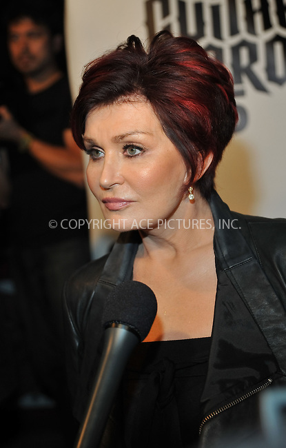 WWW.ACEPIXS.COM . . . . . ....September 10 2009, LA....Sharon Osbourne at the 2nd Annual Sunset Strip Music Festival's Tribute to Ozzy Osbourne at the House of Blues on September 10 2009 in West Hollywood, CA....Please byline: JOE WEST- ACEPIXS.COM.. . . . . . ..Ace Pictures, Inc:  ..(646) 769 0430..e-mail: info@acepixs.com..web: http://www.acepixs.com