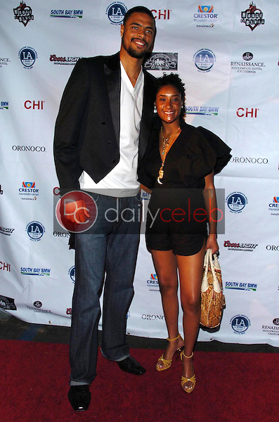 Tyson Chandler and guest<br />