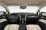 Stock photo of straight dashboard view of a 2019 Ford Mondeo Clipper Hybrid 5 Door Wagon