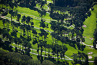 aerial photograph golf course Presidio of San Francisco
