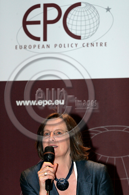 BRUSSELS - BELGIUM - 25 JUNE 2007 -- European Policy Centre (EPC) 10th Anniversary Conference. Debate: The State of the Union. -- Jacki DAVIS, EPC - Communications Director. -- PHOTO: JUHA ROININEN / EUP-IMAGES