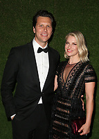 BEVERLY HILLS, CA - JANUARY 7: Ali Larter, Hayes MacArthur, at 75th Annual Golden Globe Awards_Roaming at The Beverly Hilton Hotel in Beverly Hills, California on January 7, 2018. <br /> CAP/MPIFS<br /> &copy;MPIFS/Capital Pictures