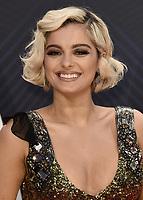 NASHVILLE, TN - NOVEMBER 14:  Bebe Rexha at the 52nd Annual CMA Awards at the Bridgetone Arena on November 14, 2018 iin Nashville, Tennessee. (Photo by Scott Kirkland/PictureGroup)