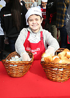 21 December 2018 - Los Angeles, California - Sam Humphrey. Los Angeles Mission Christmas Meal for the Homeless held at Los Angeles Mission. Photo Credit: F. Sadou/AdMedia