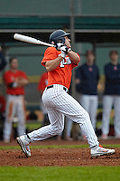 Illinois Fighting Illini infielder Bill Charvat #21 during a game against the Notre Dame Fighting Irish at the Big Ten/Big East Challenge at Walter Fuller Complex on February 17, 2012 in St. Petersburg, Florida.  (Mike Janes/Four Seam Images)