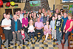 5oth Birthday Party: David Moriarity, Irremore, Listowel celebrating his 50th birthday with family & friends at McCarthy's Bar, Finuge on Saturday night last.