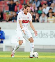 FUSSBALL   INTERNATIONAL   UEFA EUROPA LEAGUE   SAISON 2013/2014    Qualifikation, Rueckspiel VfB Stuttgart - HNK Rijeka      29.08.2013 Benedikt Roecker  (VfB Stuttgart)