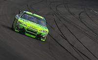 Mar 1, 2008; Las Vegas, NV, USA; NASCAR Sprint Cup Series driver Jeff Gordon during practice for the UAW Dodge 400 at Las Vegas Motor Speedway. Mandatory Credit: Mark J. Rebilas-US PRESSWIRE