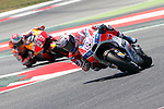 Gran Premi Monster Energy de Catalunya 2017.<br /> Moto GP Race.<br /> Andrea Dovizioso &amp; Marc Marquez.