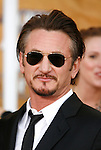 LOS ANGELES, CA. - January 25: Actor Sean Penn arrives at the 15th Annual Screen Actors Guild Awards held at the Shrine Auditorium on January 25, 2009 in Los Angeles, California.