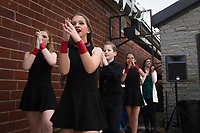 NWA Democrat-Gazette/CHARLIE KAIJO Dancers from Rince Arkansas Academy of Irish Dance perform, Saturday, March 17, 2018 at The Forge in Bentonville. <br />
