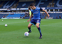 Luke O'Niel of Wycombe Wanderers warming up before the Carabao Cup match between Wycombe Wanderers and Fulham at Adams Park, High Wycombe, England on 8 August 2017. Photo by Alan  Stanford / PRiME Media Images.