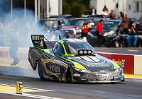 May 6, 2017; Commerce, GA, USA; NHRA funny car driver Chad Head during qualifying for the Southern Nationals at Atlanta Dragway. Mandatory Credit: Mark J. Rebilas-USA TODAY Sports