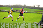 Abbeydorney V Ballyheigue in the County League Fiinal on Sunday in Abbeydorney.Micvhael Hanifin (abbeydorney and Ned Flavie(Ballyheigue)............