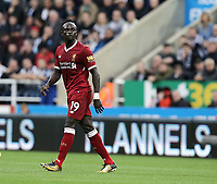 Liverpool's Sadio Mane<br /> <br /> Photographer Rich Linley/CameraSport<br /> <br /> The Premier League -  Newcastle United v Liverpool - Sunday 1st October 2017 - St James' Park - Newcastle<br /> <br /> World Copyright &copy; 2017 CameraSport. All rights reserved. 43 Linden Ave. Countesthorpe. Leicester. England. LE8 5PG - Tel: +44 (0) 116 277 4147 - admin@camerasport.com - www.camerasport.com