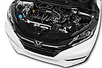 Car Stock 2016 Honda HRV Executive 5 Door Suv Engine  high angle detail view