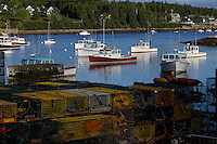 Boats n' Lobster Traps, Bernard  #S36