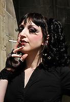 Gothic Lolita bezoekt het Summer Darkness Festival in Utrecht