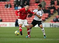 2012 01 07 FA Cup Barnsley  v Swansea City at the Oakwell Stadium, south Yorkshire, UK.