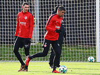 Branimir Hrgota (Eintracht Frankfurt), Slobodan Medojevic (Eintracht Frankfurt) - 29.12.2017: Eintracht Frankfurt Training, Commerzbank Arena