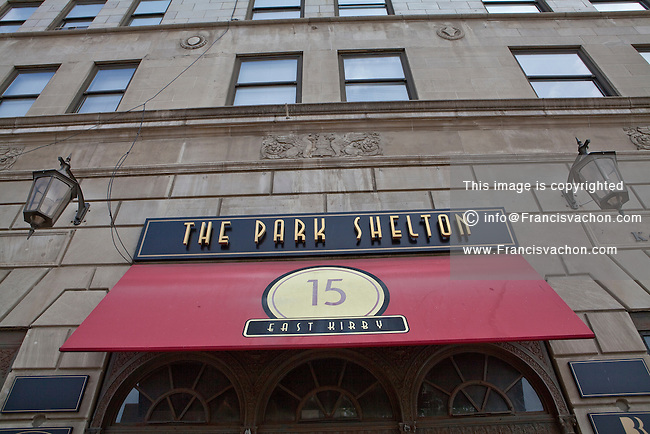 The Park Shelton historic condominium building is seen in the Midtown district of Detroit (Mi) Sunday June 9, 2013. The Park Shelton was built in 1926 as a hotel, The Wardell.