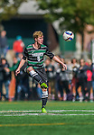 3 October 2015: Binghamton University Bearcat Midfielder Mike Kubik, a Junior from Wallington, NJ, in action against the University of Vermont Catamounts at Virtue Field in Burlington, Vermont. The Bearcats held on to defeat the Catamounts 2-1 in America East conference play. Mandatory Credit: Ed Wolfstein Photo *** RAW (NEF) Image File Available ***