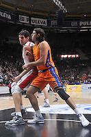 Loncar vs Marjanovic<br /> Euroleague - 2014/15<br /> Regular season Round 8<br /> Valencia Basket vs Crvena Zvezda Telecom Belgrade
