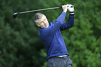 Karl Murray (Charlesland)  during the final of the Irish Mid-Amateur Open Championship, Royal Belfast Golf CLub, Hollywood, Down, Ireland. 29/09/2019.<br /> Picture Fran Caffrey / Golffile.ie<br /> <br /> All photo usage must carry mandatory copyright credit (© Golffile   Fran Caffrey)